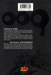 Verso de Cyborg 009 -3- Tome 3