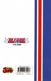 Verso de Bleach -34- King of the Kill