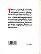 Verso de (AUT) Cabu - Cabu au Canard enchaîné