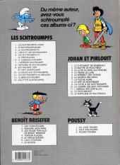 Verso de Les schtroumpfs -3ES- La Schtroumpfette