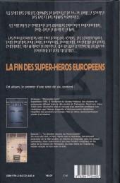 Verso de La brigade Chimérique -1- Mecanoïde Curie - La dernière mission du passe-muraille