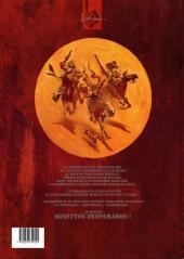 Verso de Minettos Desperados -2a- L'étoile des rocheuses