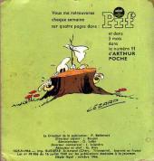 Verso de Arthur le fantôme (Poche) -10- Poche n°10