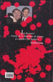 Verso de Sang pour sang -3- L'enfant de Celluloïd