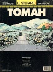 Verso de Le solitaire -1- Tomah
