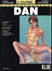Verso de Le solitaire -2- Dan