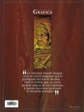 Verso de Le prince de la Nuit -1- Le chasseur