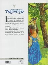 Verso de Les tentations de Navarre -2- Le roi lion