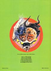 Verso de La terre de la bombe -3- Les sortilèges de Perp