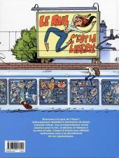 Verso de Les blagues du rail -1- Farces motrices