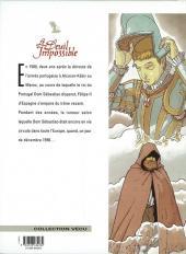 Verso de Le deuil impossible -1- Le chevalier du Christ