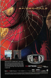 Verso de The amazing Spider-Man Vol.2 (Marvel comics - 1999) -512- Sins Past Part Four