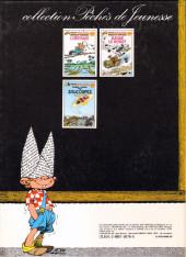Verso de Blondin et Cirage -93- Les soucoupes volantes
