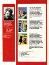 Verso de Clifton (1re série) -INT- Spécial Clifton