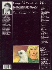 Verso de Contes et sortilèges du Moyen Âge - Le cri du faucon