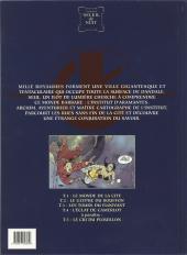 Verso de Les maîtres cartographes -4- L'éclat de Camerlot