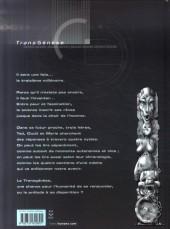 Verso de L'ancêtre programmé - Intégrale