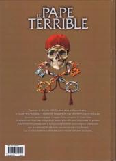 Verso de Le pape terrible -1- Della Rovere