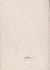 Verso de Strange -Rec020- Album N°20 (du n°59 au n°61)