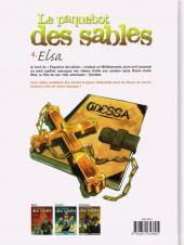 Verso de Le paquebot des sables -4- Elsa