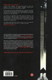 Verso de V pour Vendetta - Tome INTa2009