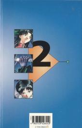 Verso de Neon Genesis Evangelion -2- Le Couteau et l'Adolescent