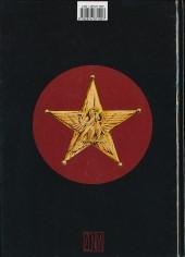 Verso de Les désarmés -1- Tome 1