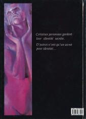 Verso de Orchidée noire -1- Secrets
