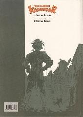 Verso de Phil Korridor -1- La nuit des Fulgurs