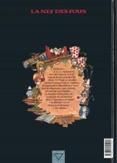Verso de La nef des fous -3- Turbulences