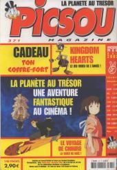 Verso de Picsou Magazine -371- Picsou Magazine N°371