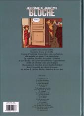 Verso de Jérôme K. Jérôme Bloche -21- Déni de fuite