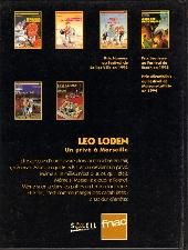 Verso de Léo Loden -HS1- Meurtre à la FNAC