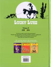 Verso de Lucky Luke (Intégrale Dupuis/Dargaud) -9b09- Volume 9 - (1963-1964)