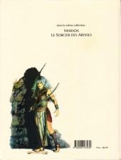 Verso de Marada la louve (L'odyssée de) -2- Le sorcier des Abysses