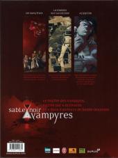 Verso de Vampyres - Sable noir -1- Tome 1