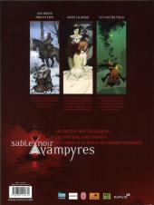 Verso de Vampyres - Sable noir -2- Tome 2