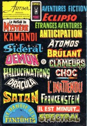 Verso de Frankenstein (Arédit - Comics Pocket) -7- Créatures de cauchemar