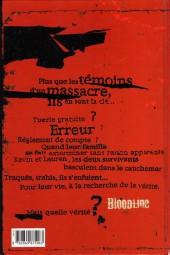 Verso de Bloodline - Tome 0