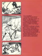 Verso de Les aventures de Ludovic et Belinda -1- Ludovic exilé
