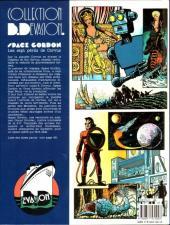 Verso de Space Gordon - Les sept périls de Corvus