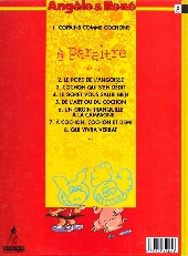 Verso de Angèle & René -1- Copains comme cochons