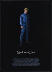 Verso de Golden City -INT1- Intégrale - Tomes 1 à 3