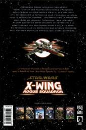 Verso de Star Wars - X-Wing Rogue Squadron (Delcourt) -6- Princesse et guerrière