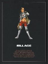 Verso de Sillage -INT1- L'Intégrale - Tomes 1 à 3