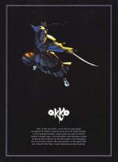 Verso de Okko -INT1- Le Cycle de l'eau - Édition intégrale