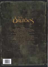 Verso de Les druides -5- La Pierre de destinée
