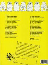 Verso de Cubitus -35- L'héritage du Pastaga