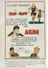 Verso de Capt'ain Swing! (1re série) -185- Coup de théâtre