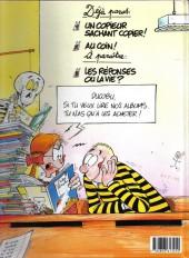 Verso de L'Élève Ducobu -2- Au coin !